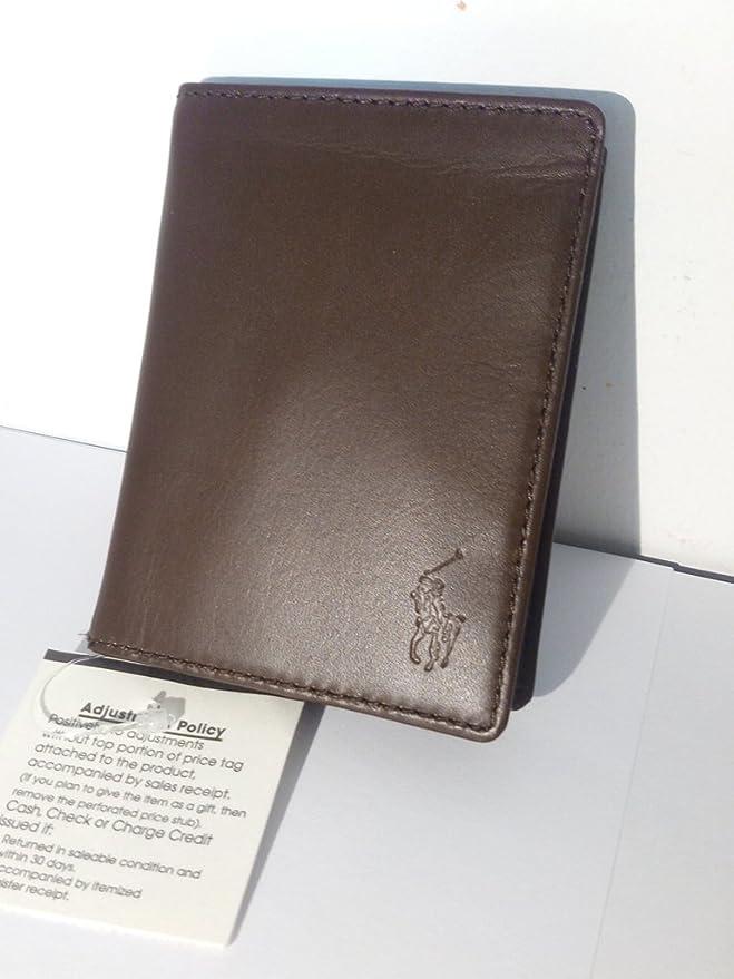 Cartera Piel Marrón Polo Ralph Lauren: Amazon.es: Equipaje