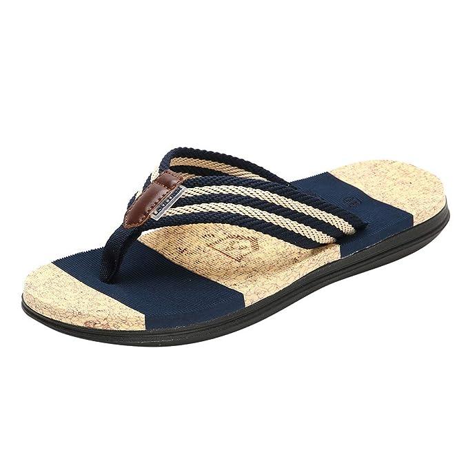 Sandalias Playa Zapatos Chancletas panpany Casuales Hombre De pVUSMz