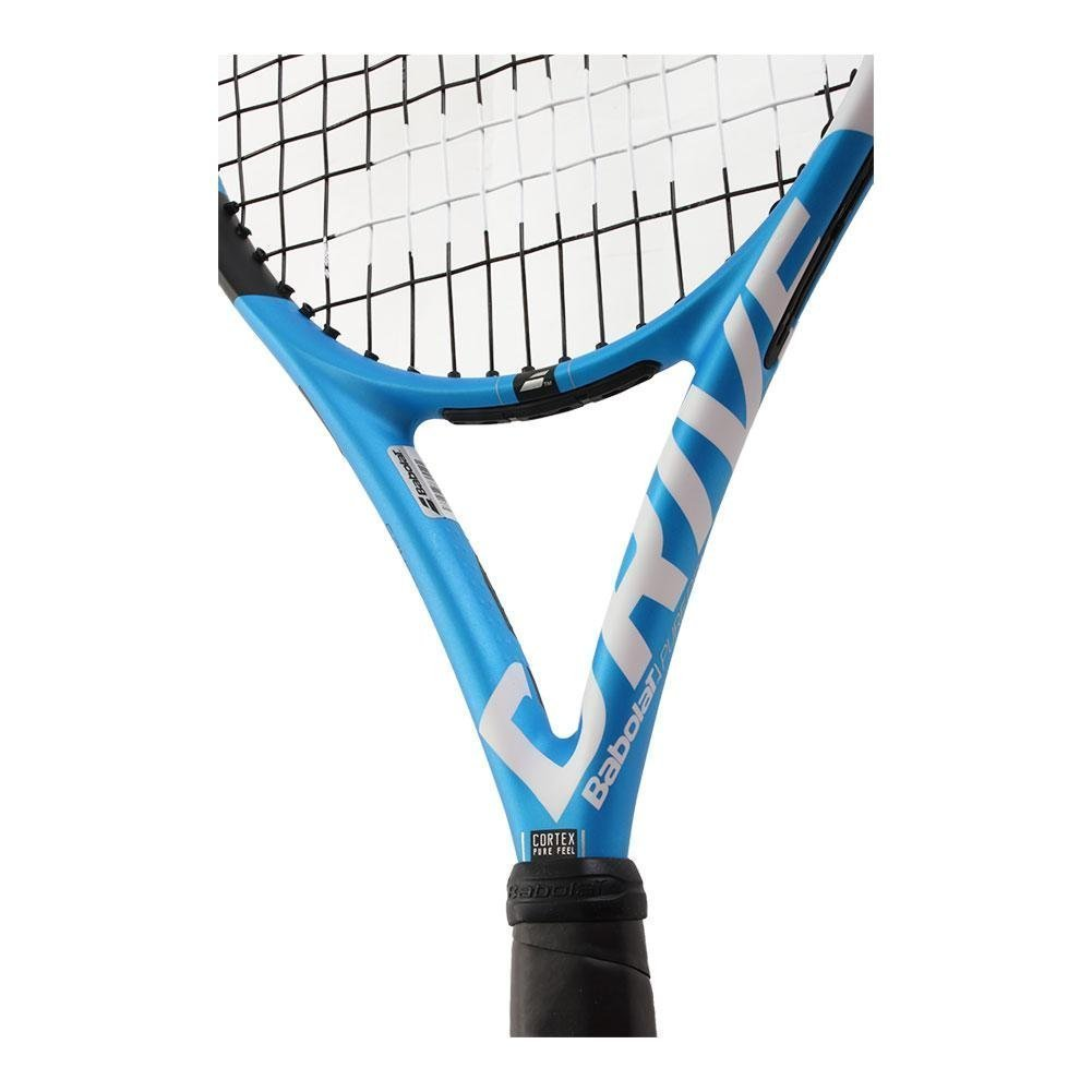 Babolat Pure Drive 25 Junior Blue/White Tennis Racquet (4'' Inch Grip) Strung with White String by Babolat (Image #5)