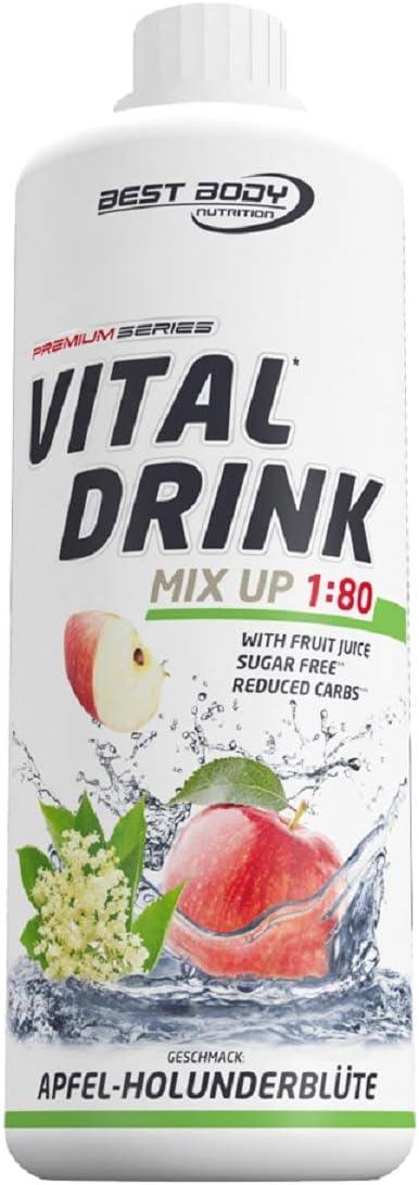Vital Drink - Apfel Holunderblüte Zuckerfrei