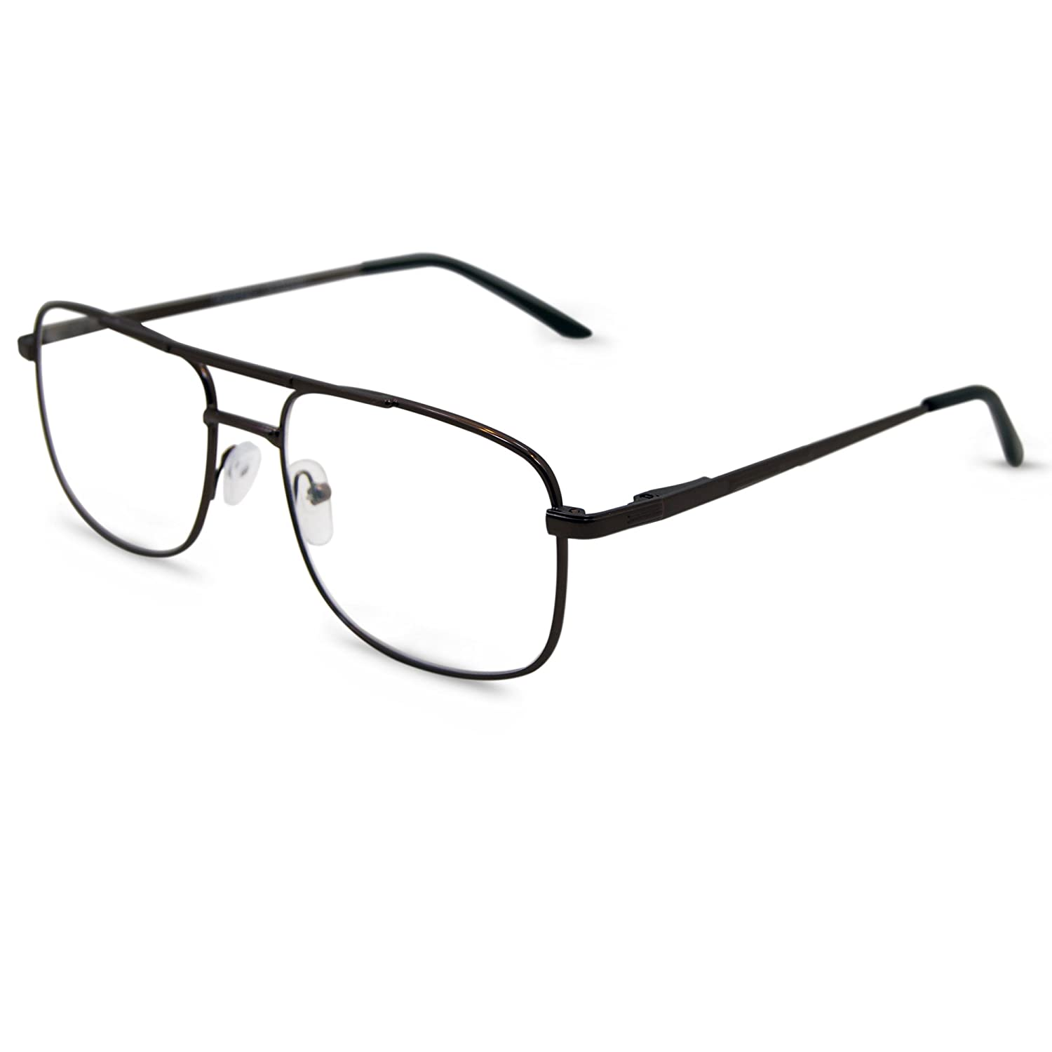 34d92b6bd9 Amazon.com  In Style Eyes Savvy Progressive BiFocal Glasses Copper 1.50   Clothing
