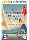 US English - The Adventures of Vince the Cat: Vince Goes to Paris (Catnap Stories Book 1)