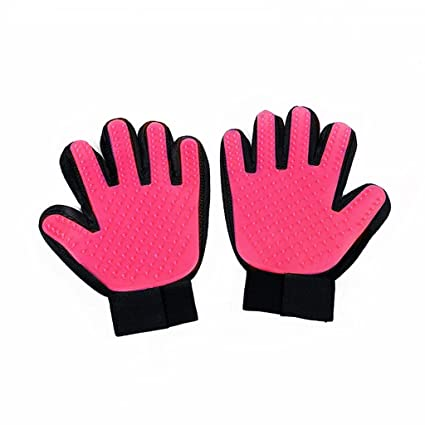 Amazon.com : sea jump Pet Clean Massage Gloves Cat & Dog General Bathe Shower Removal Floating Gloves Pet Cleaning Supplies - Pink : Pet Supplies