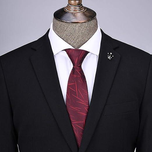 YiCan Corbata Negra Corbata Formal For Hombres/Overol Camisa ...