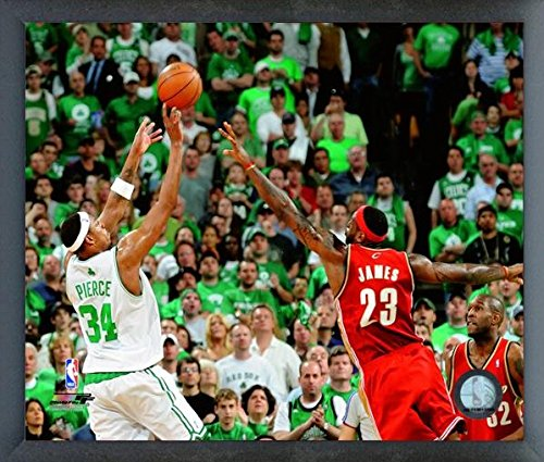 "Paul Pierce Boston Celtics NBA Action Photo (Size: 12"" x 15"") Framed"