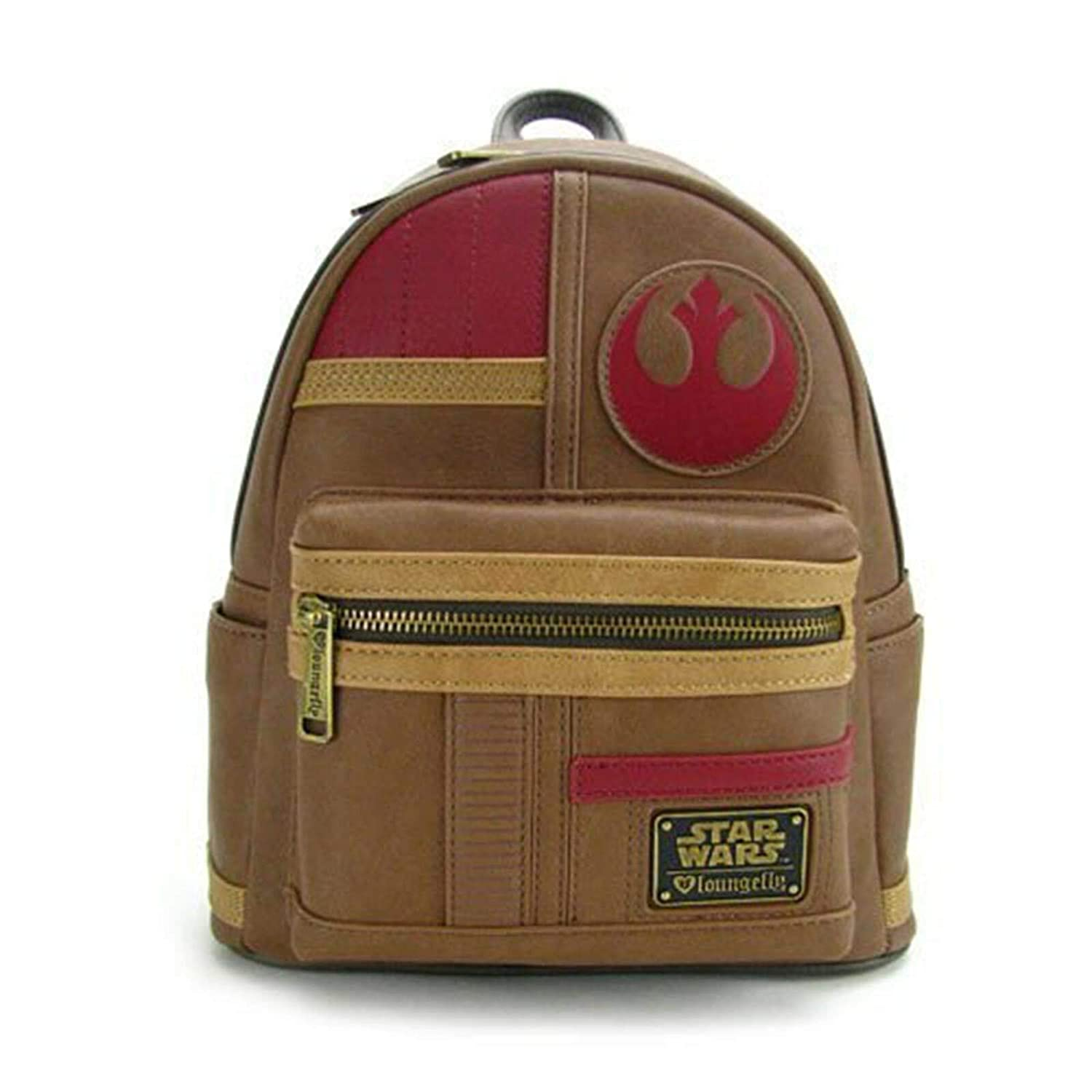 0fb0f1789c0 Amazon.com  Loungefly Star Wars The Last Jedi Rebel Finn Mini Backpack   Toys   Games