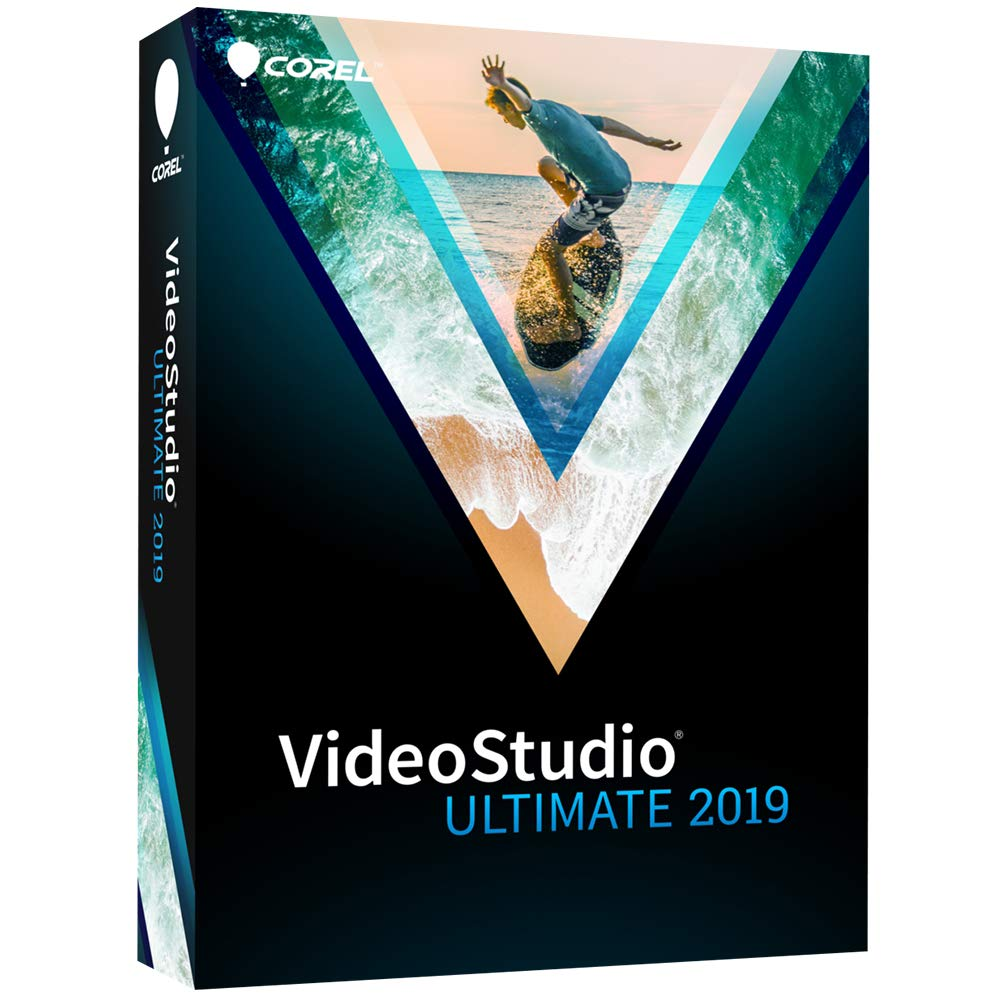 VideoStudio Ultimate 2019 - Video & Movie Editing [PC Disc] by Corel