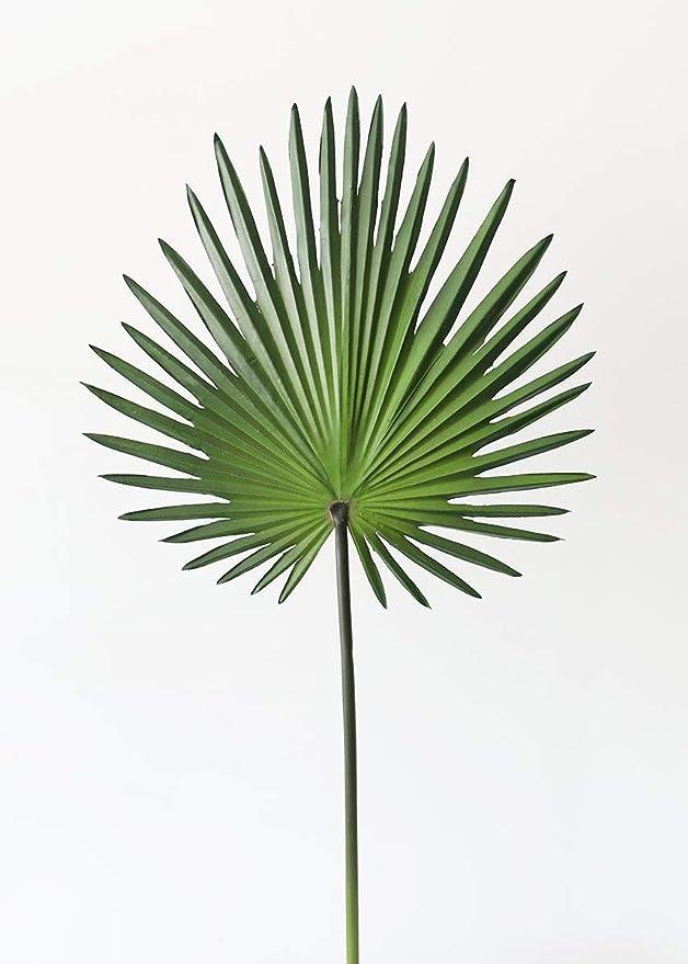 Amazon Com Artificial Fan Palm Leaf 30 Home Kitchen