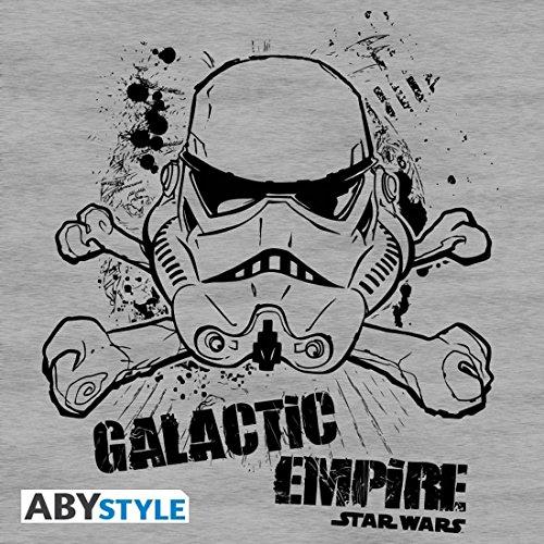 gris Star Wars Mc Basic Galactic Camiseta Empire Sport hombre F0rwF