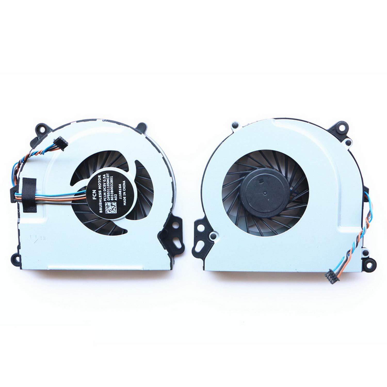 Cooler para HP Envy 15-J 17-J M6-N M7-J Sereis 15-J011DX 15-J053CL 15-J185NR 17-J073CA 17-J083CA 17-J137CL 17-J141NR M6-