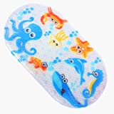Amazon Com Baby Underwater Ocean Bath Mat 15 3 4 Quot X 27 1