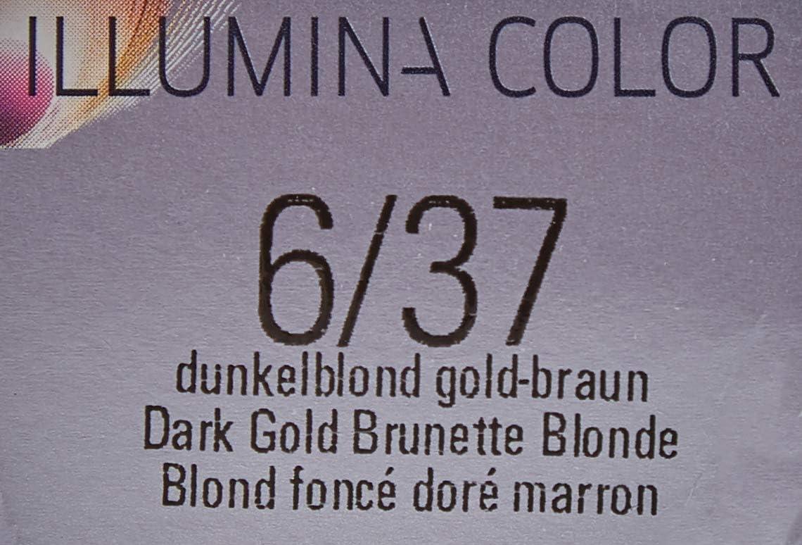 Wella Perfecton Illumina Color 6/37 - Tinte para el pelo, 60 ml, 1 unidad