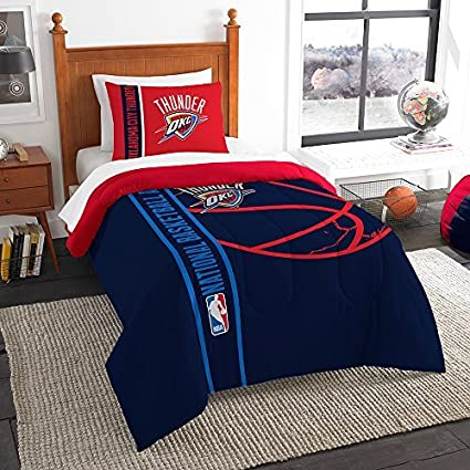 Merveilleux Northwest Oklahoma City Thunder NBA Full Set Soft U0026 Cozy 76u0026quot; X  86u0026quot; Comforter