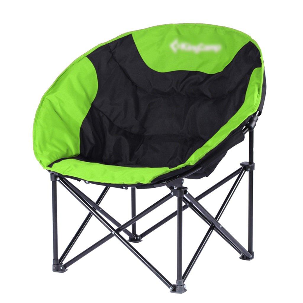 ZGL 旅行椅子 屋外バックライト超軽量釣り椅子レイジー折りたたみチェアポータブルチェアカジュアルダイニングチェアランチラウンジライトの色オプション ( 色 : Green-2 ) B07CG5XGD9  Green-2