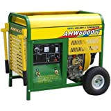 AMICO Power AHW6000LE 6000W Generator With Welder