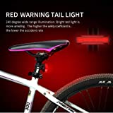 Gyhuego USB Rechargeable Bike Light Front, Super