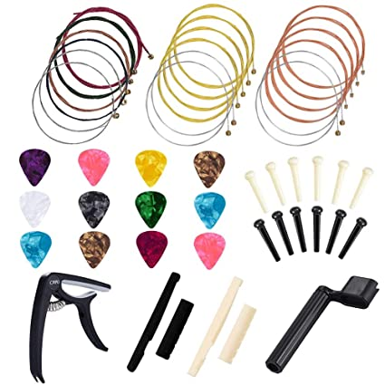 Juego de 48 cuerdas de guitarra para cambiar guitarras, guitarra ...