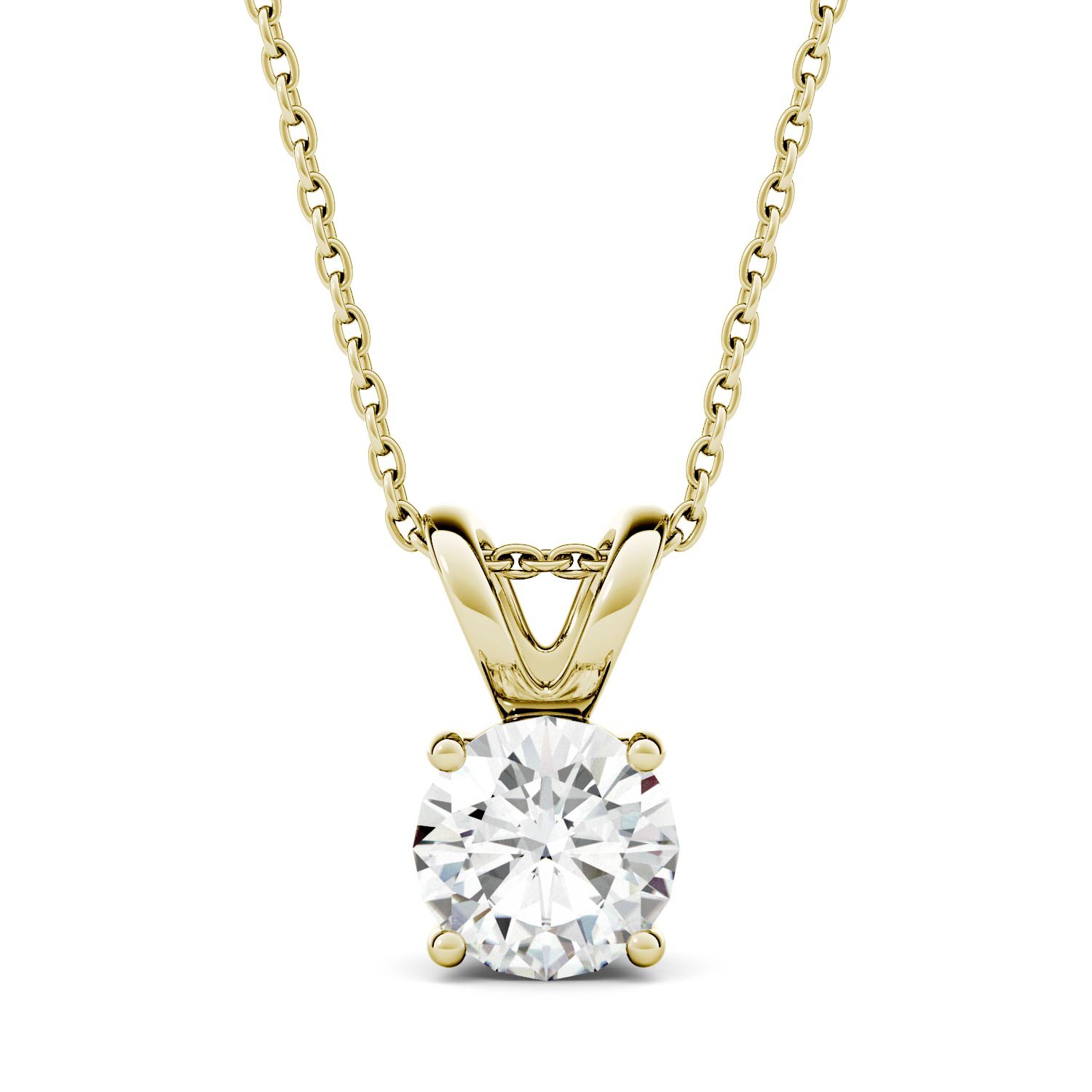 one dew white com f moissanite cross dp charles jewelry gold d necklace amazon by l forever e colvard pendant