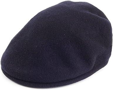 Gorra plana de lana Kangol 504 - Azul Marino - X-LARGE: Amazon.es ...