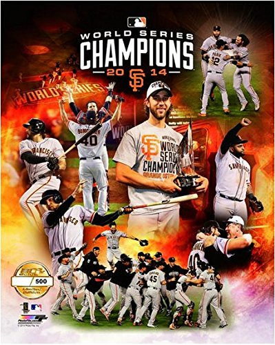 "San Francisco Giants 2014 World Series Champions Limited Edition Photo (Size: 16"" x 20"")"