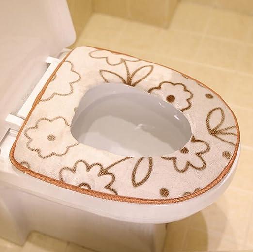Dixinla Cojín Asiento Inodoro cálido, WC Establece, un ...