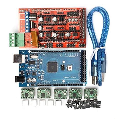 Ils - Controlador RAMS 1.4 DE la Impresora 3D de + MEGA2560 R3 + ...