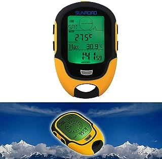 Foru-1étanche FR500Multifonction numérique LCD altimètre Baromètre Boussole