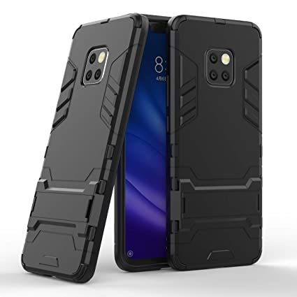 Huawei Mate 20 Pro Case, CaseExpert Shockproof Rugged Impact Armor Slim Hybrid Kickstand Protective Cover Case for Huawei Mate 20 Pro