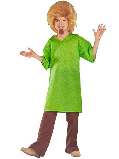 Amazoncom Boys Shaggy Scooby Doo Costume Clothing