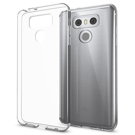 NALIA Funda Carcasa Compatible con LG G6, Protectora Movil Silicona Ultra-Fina Gel Cubierta Estuche, Goma Telefono Bumper Smart-Phone Cover Cobertura ...