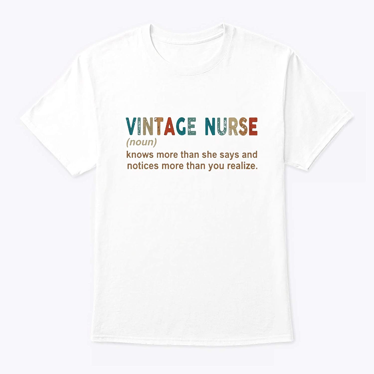Diana Lysa Im The Psychotic Auntie Nurse Everyone Warned You About T-Shirt Nurse