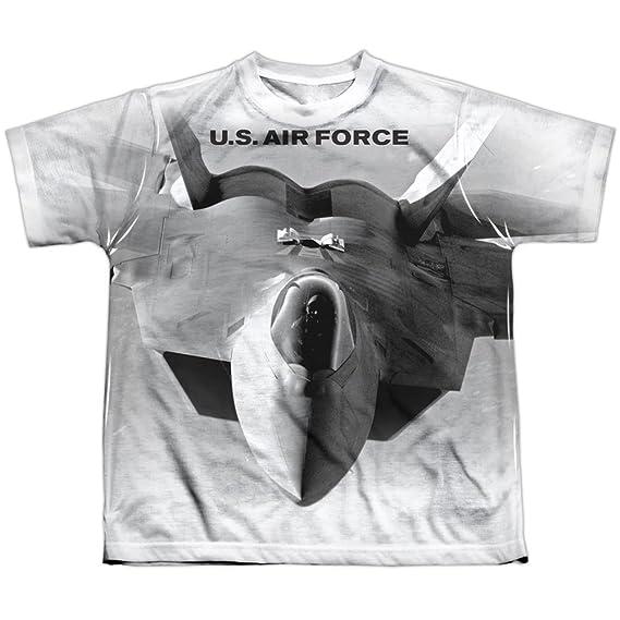 Air Force vienen en usted sublimación camiseta de la juventud para niños: Amazon.es: Ropa y accesorios