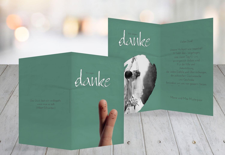Kartenparadies Danksagung für Hochzeitsgeschenke Hochzeit Dankeskarte Fingerpaar, hochwertige Danksagungskarte Hochzeitsglückwünsche inklusive Umschläge   10 Karten - (Format  105x148 mm) Farbe  PastellHellRot B01N36BFR5 | Um Eine Hohe