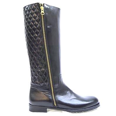 CLARYS Zapatos Niña Botas Botines 9162 Negro 36: Amazon.es: Zapatos y complementos