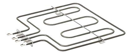 DREHFLEX® - Oberhitze/Heizung/Heizelement - passend für diverse AEG/Electrolux (auch Quelle - Privileg möglich) Herde/Backofe