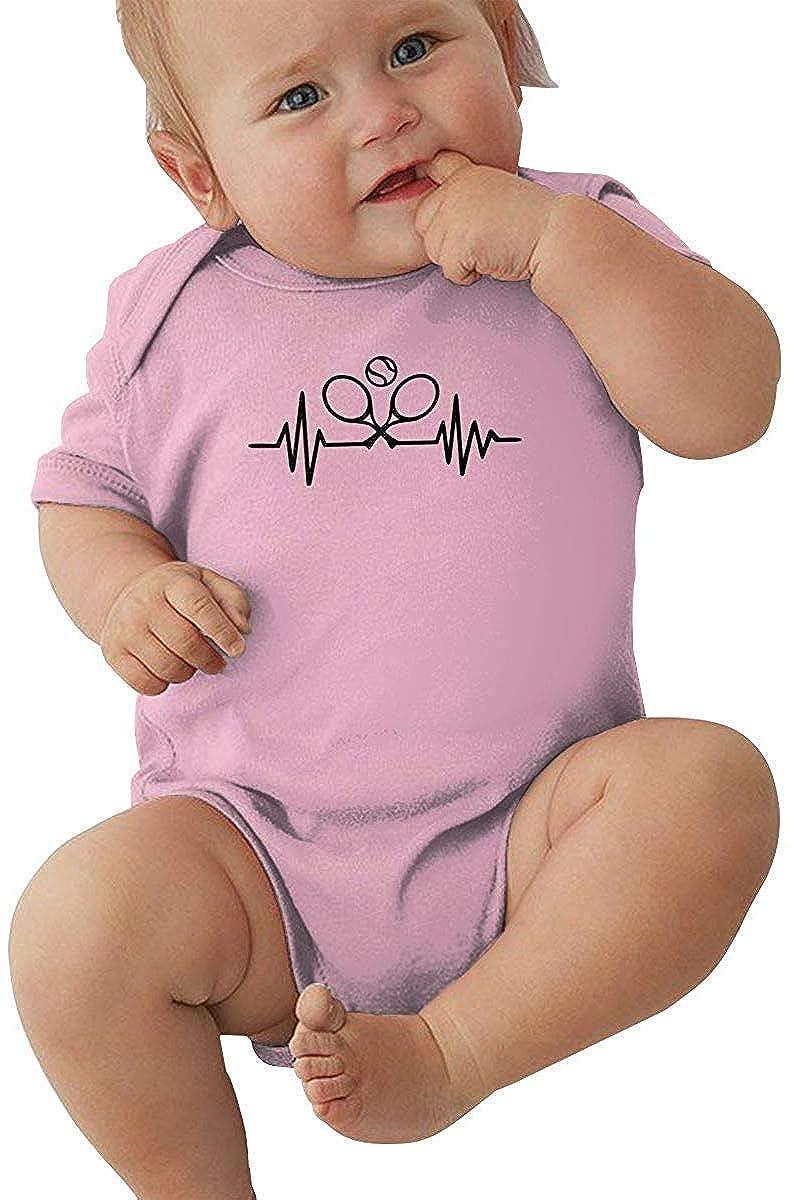 Latido del corazón con Pelota de Tenis Mono de Mameluco para niña ...