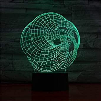 3D Illusion LED Lamp: Light Up Your