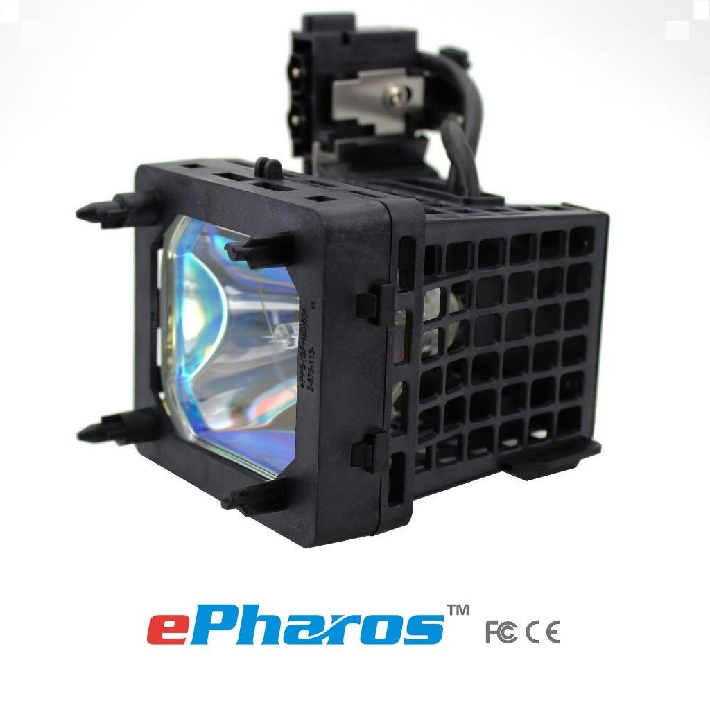 ePharos XL-5200 replacement projector lamp original bulb with generic housing for Sony KDS-50A2000 / KDS-50A2020 / KDS-55A2000 / KDS-55A2020 / KDS-60A2000 / KDS-60A2020 / KDS-50A3000 / KDS-55A3000 / KDS-60A3000