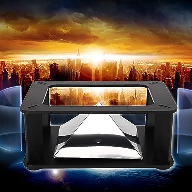 Universal Smartphone 3D Holographic Holograma Display Stand Proyector Pirámide Ciencia Juguete: Amazon.es: Industria, empresas y ciencia