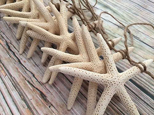 10ft Starfish Coastal Christmas and Wedding Garland]()