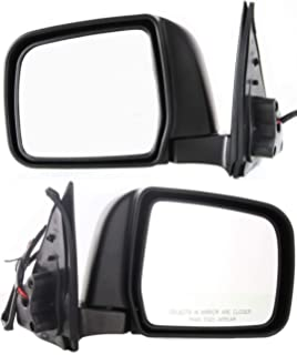 Manual Mirror For 2001-2003 Chrysler Voyager Left Manual Folding Paintable