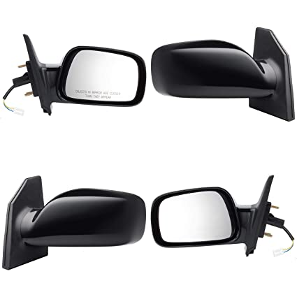 Roane Concepts Replacement Left Driver Side Door Mirror Power for 2003-2008 Toyota Corolla Non Heated TO1320179