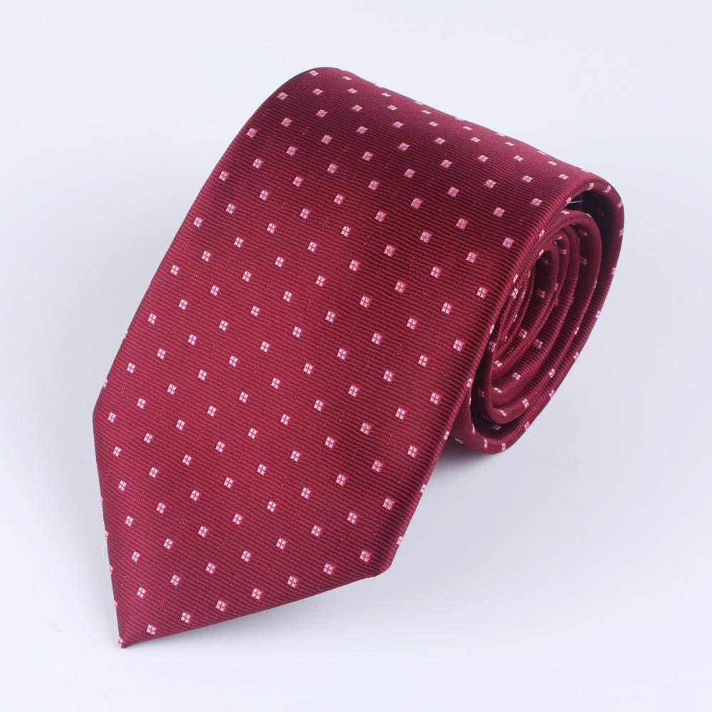 Aoolomy Hombre vestido rojo corbata boda boda novio negocio ...