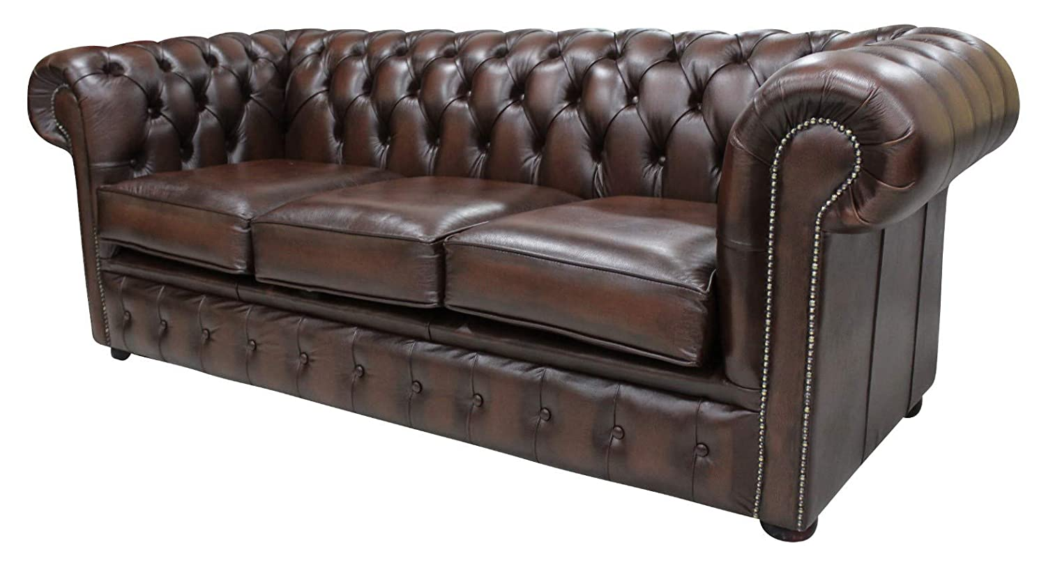 Designer Sofas4u Orignal Chesterfield 3 Seater Antiguo ...