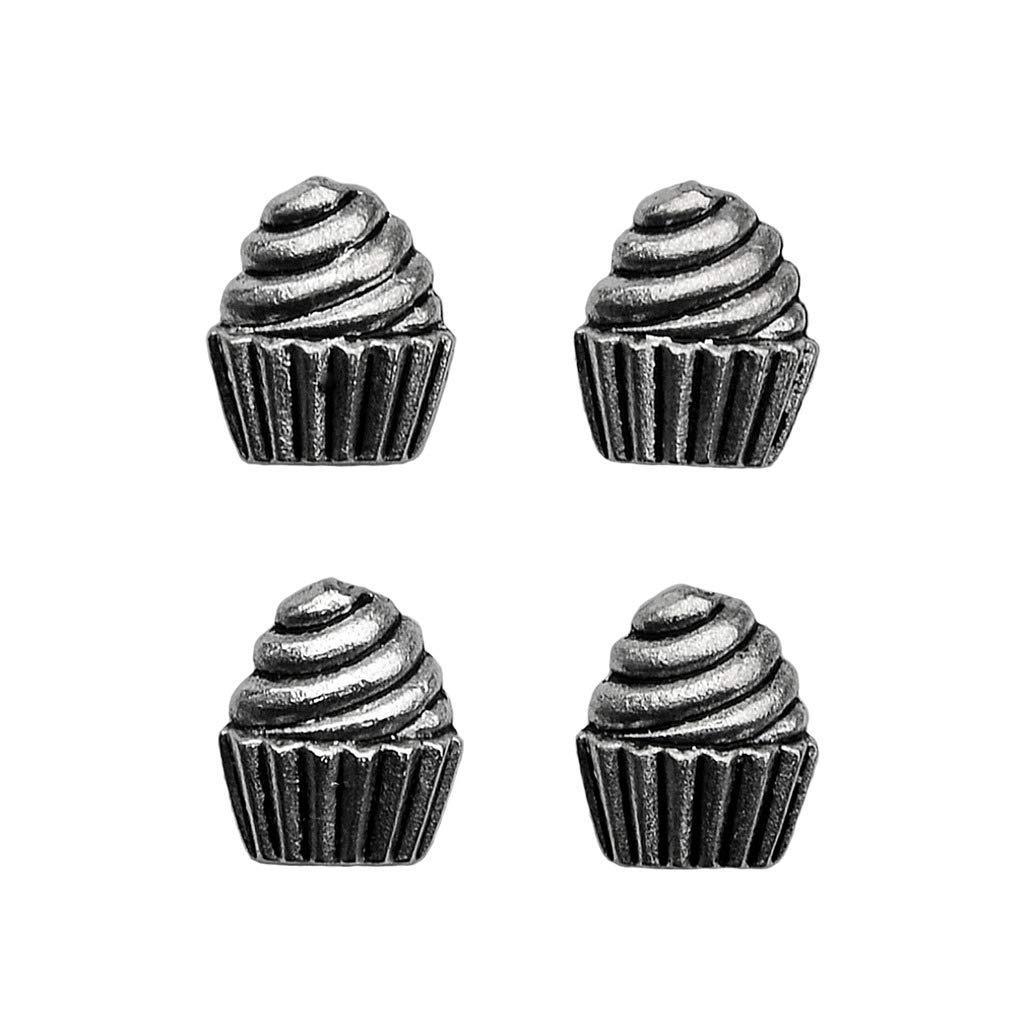 Quality Handcrafts Guaranteed Cupcake Tuxedo Studs