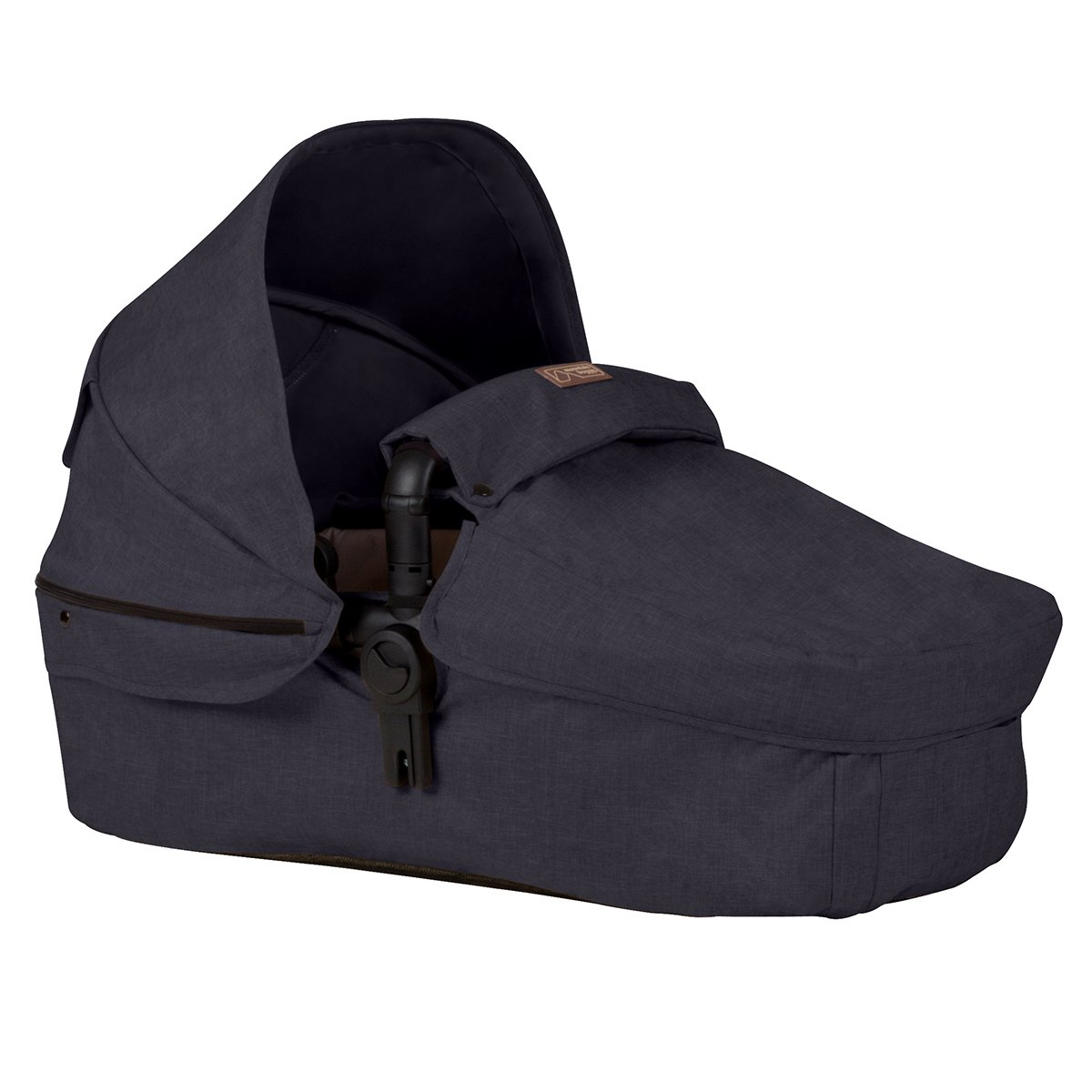 Mountain Buggy Cosmopolitan Carrycot Fabric Accessory, Black COSMOCC_V2_77