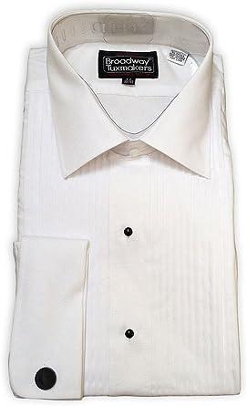 Broadway Tuxmakers - Camisa de Esmoquin para Hombre ...