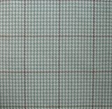 Pembrook Seaglass Green Houndstooth 75 x 72 inch Cotton Shower Curtain, Unlined