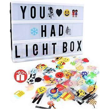 Amazon My Cinema Lightbox The Original Led Marquee Light Box