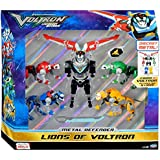 Dreamworks Voltron Legendary Defender Exclusive Lions of Voltron Set